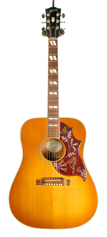 gibson hummingbird acoustic guitar vintage sunburst pre owned ebay. Black Bedroom Furniture Sets. Home Design Ideas