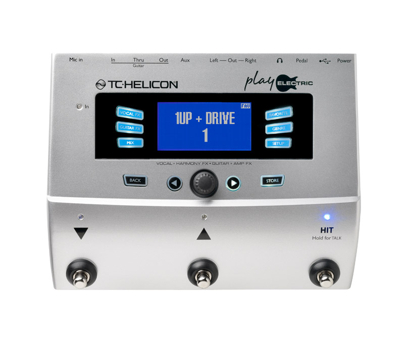 tc helicon voicelive play electric vocal guitar multi effects pedal ex display ebay. Black Bedroom Furniture Sets. Home Design Ideas