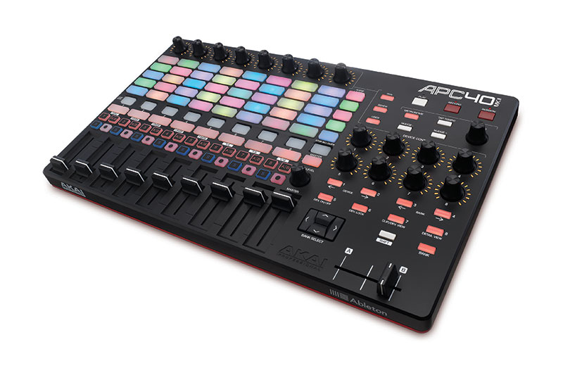 akai apc40 mkii midi control surface for ableton live new ebay. Black Bedroom Furniture Sets. Home Design Ideas