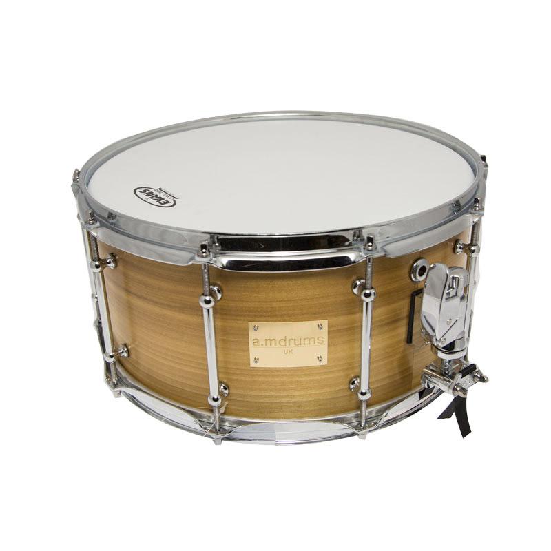 a.M Drums 14x7 Bubinga und Rosenholz Snare Schlagzeug (NEU) | eBay