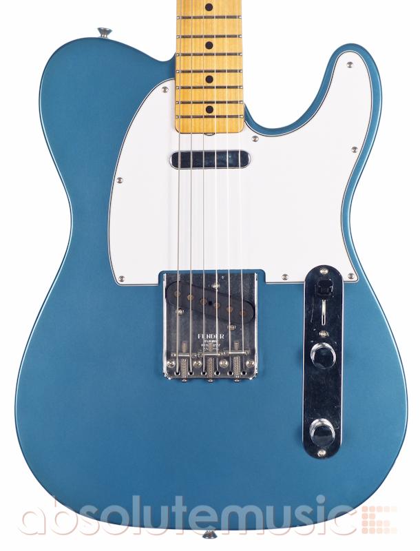Fender Custom Smugglers Telecaster Electric Guitar, Lake Placid Blue ...