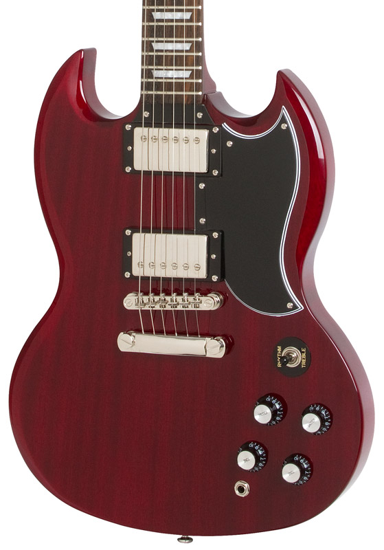 epiphone g 400 pro sg style electric guitar cherry new. Black Bedroom Furniture Sets. Home Design Ideas