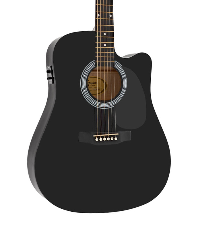 fender sa 105ce dreadnought cutaway lectro acoustique. Black Bedroom Furniture Sets. Home Design Ideas