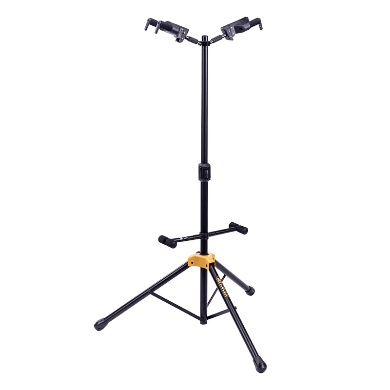 NEW Hercules GS422B PLUS Dual Guitar Stand With Auto-Grip Yokes