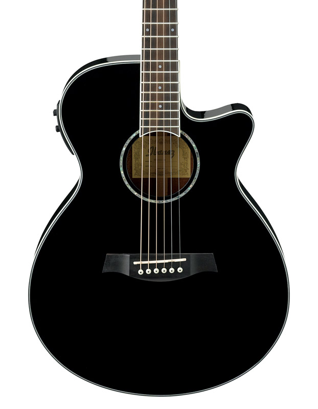 ibanez aeg10ii bk lectro acoustique guitare noir neuf. Black Bedroom Furniture Sets. Home Design Ideas