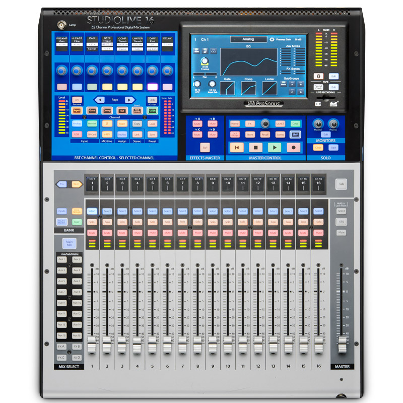 Presonus Studiolive 16 Series 3 Digital Mixing Console