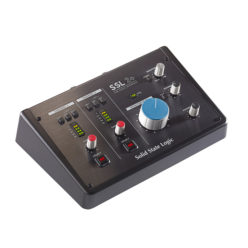 NEW USB Audio Interface Solid State Logic SSL 2