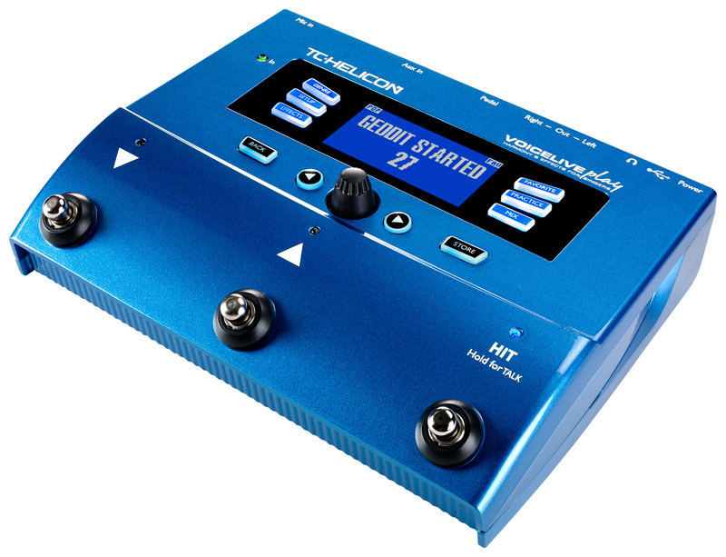 tc helicon voicelive play vocal effects pedal new ebay. Black Bedroom Furniture Sets. Home Design Ideas